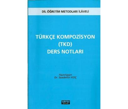 İLKSAHAF@TÜRKÇE KOMPOZİSYON(TKD)DERS NOTLARI