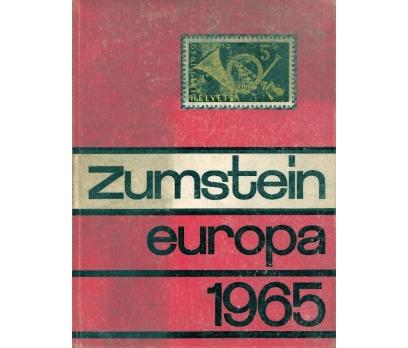 İLKSAHAF@ZUMSTEİN EUROPA 1965 BRİEFMARKENKATALOG