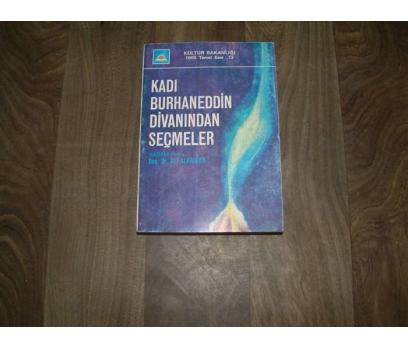KADI BURHANEDDİN DİVANINDAN SEÇMELER 1977