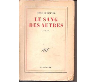 LE SANG DES AUTRES-SIMONE DE BEAUVOIR-1945