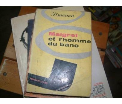MAIGRET-ET L'HOMME DU BANC-SIMENON-1953
