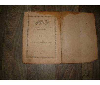 MEVLÜT KİTABI TAŞBASKI 1324 MEHMETBEY MATBAASI