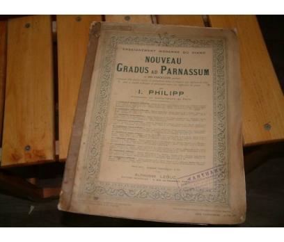NOUVEAU GRADUS AD PARNASSUM-1.PHILIPP-NOTALAR