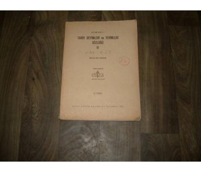 OSMANLI TARİH DEYİMLERİ VE TERİM-SÖZ--III-FAS.24