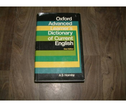 OXFORD ADVANCED LEARNER'S DİCTİONARY OF CURRE