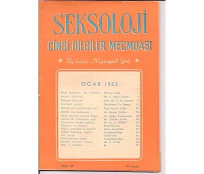 SEKSOLOJİ CİNSİ BİLGİLER MECMUASI-OCAK 1952