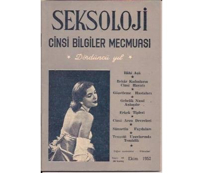 SEKSOLOJİ DERGİSİ-SAYI:43-EKİM-1952