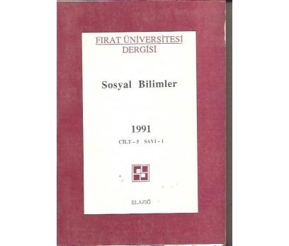 SOSYAL BİLİMLER 1991-CİLT-5-SAYI-1FIRAT ÜNİVERSİ