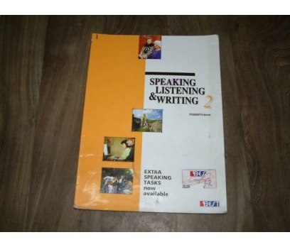 SPEAKING LISTENING&WRITING 2-STUDENT'S BOOK