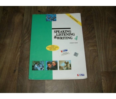 SPEAKING LISTENING&WRITING 4-STUDENT'S BOOK