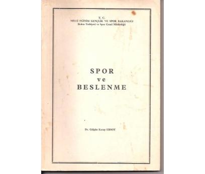 SPOR VE BESLENME-DR.GÜLGÜN KASAP ERSOY-1986