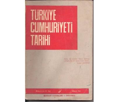 TÜRKİYE CUMHURİYETİ TARİHİ-MÜKERREM K.SU-KAMİL S