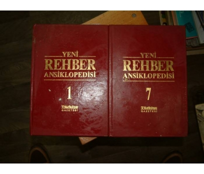 YENİ REHBER ANSİKLOPEDİSİ-1. VE 7. CİLT- 1