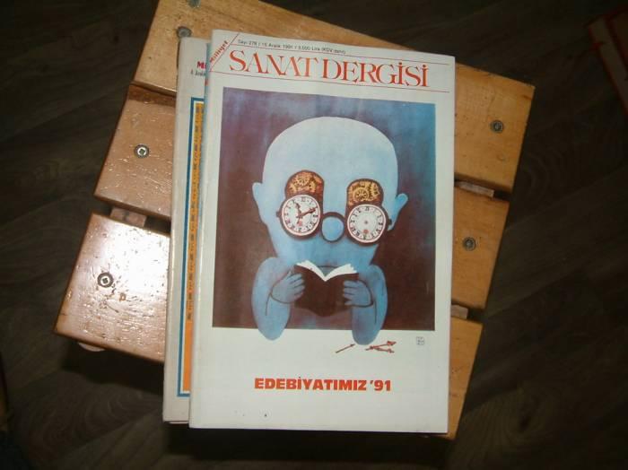 MİLLİYET SANAT DERGİSİ-SAYI:278-1991 1