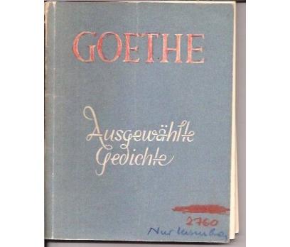 AUSGEWAHLTE GEDICHTE-J.W.V.GOETHE-1952