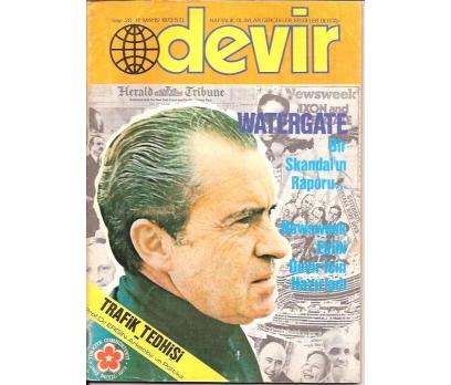İLKSAHAF&DEVİR DERGİSİ-S:28-1973-WATERGATE