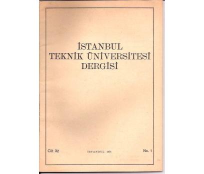 İLKSAHAF&İSTANBUL TEKNİK ÜNİVERSİTESİ DERGİSİ