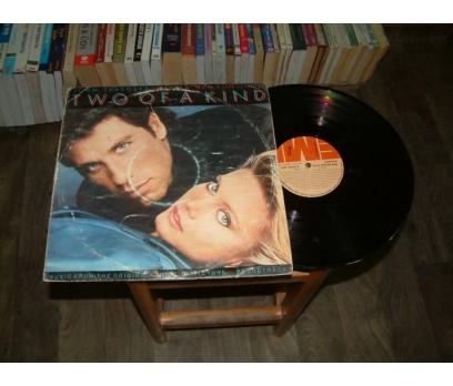 İLKSAHAF&JOHN TRAVOLTA-TWO OF A KIND-LP PLAK