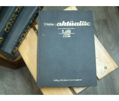 MİLLİYET AKTÜALİTE 1.CİLT-13.9.1987-27.12.1987