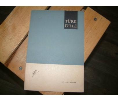 TÜRK DİLİ DERGİSİ-SAYI:152-MAYIS-1964