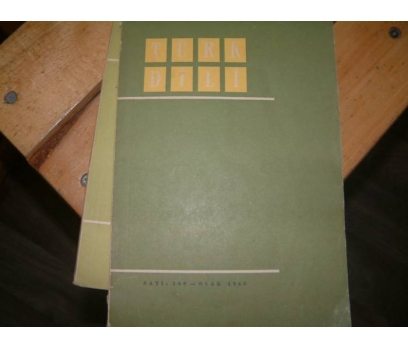 TÜRK DİLİ DERGİSİ-SAYI:160-OCAK 1965