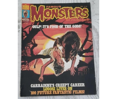 FAMOUS MONSTERS OF FILMLAND 209 HORROR MAGAZINE