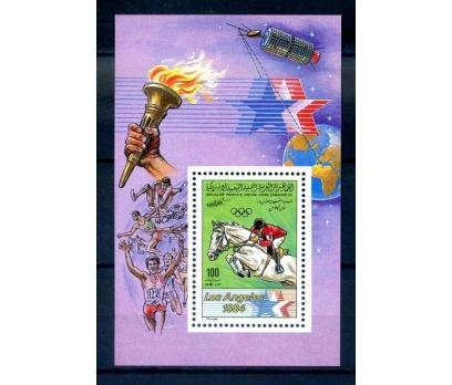 LİBYA ** 1984 OLİMPİYATLAR BLOK (210814)