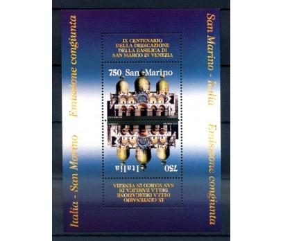 SAN MARİNO** 1994 İTALYA - S.M. ORTAK BLOK(210814) 1