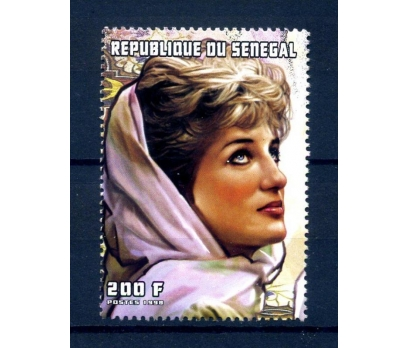 SENEGAL ** 1999 LADY DİANA TEK PUL (240814)