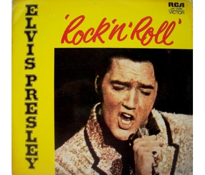ELVIS PRESLEY ROCK'N ROLL, LP TEMİZ 1 2x