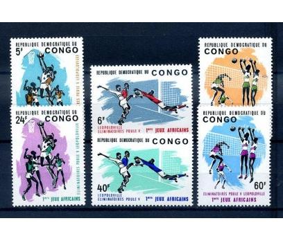KONGO ** 1965 SPOR TAM SERİ (310814)