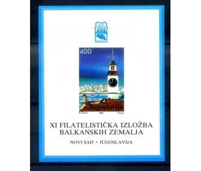 YUGOSLAVYA ** 1987 DENİZ FENERİ BLOK (260814)