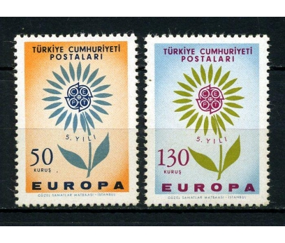 CUMHURİYET ** 1964 EUROPA CEPT SÜPER(030914)
