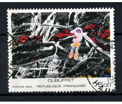 FRANSA DAMGALI 1985 TABLO TAM SERİ SÜPER (040914)