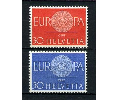 İSVİÇRE **  1960 EUROPA CEPT TAM SERİ (110914)