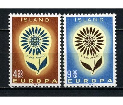 İZLANDA ** 1964 EUROPA CEPT SÜPER(030914)
