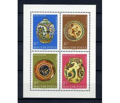 MACARİSTAN ** 1968 SANAT  BLOK (060914)