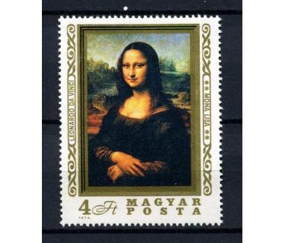 MACARİSTAN** 1974 TABLO & MONA LİSA TAM S (060914)