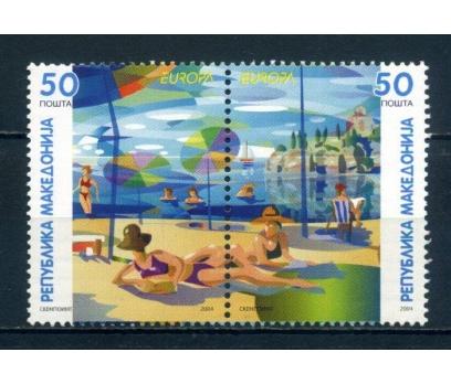 MAKEDONYA ** 2004 EUROPA CEPT SÜPER(020914)