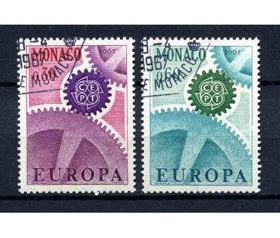 MONAKO İGD 1967 EUROPA CEPT TAM SERİ (080914)