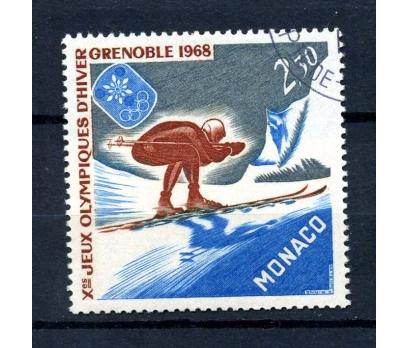 MONAKO İGD 1967 GRENOBLE  KIŞ O.TAM SERİ (080914)