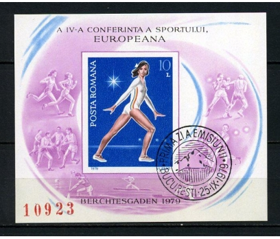 ROMANYA İGD 1979 SPOR & JİMNASTİK BLOK (060914)