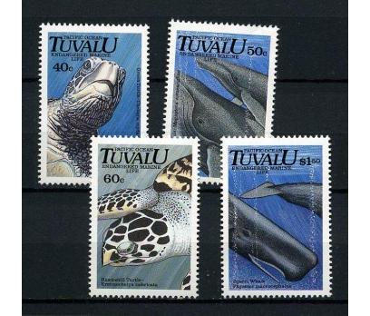 TUVALU ** 1991  DENİZ KAPLUMBAĞALARI SÜPER(050914)