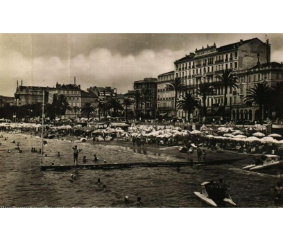 CANNES ** 1952 FRANSA P.G.İSTANBUL'A KP (180914)