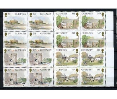 GUERNSEY ** 1986 TABLOLAR TAM SERİ DBL (280914)