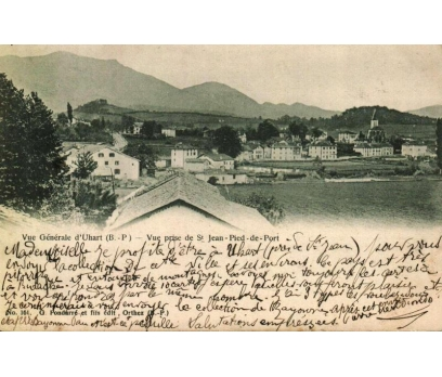 JEAN PIED ** 1902 FRANSA P.G.İSTANBUL'A KP(180914)