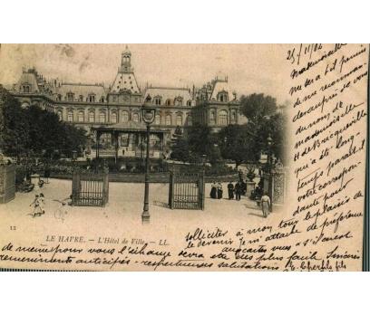 LE HAVRE ** 1902 FRANSA P.G.İSTANBUL'A KP(180914)