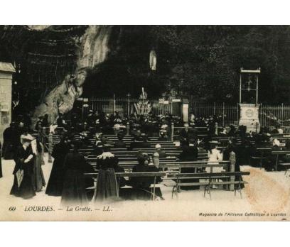 LOURDES ** 1907 FRANSA POS.GEÇMİŞ KARTP.(130914)