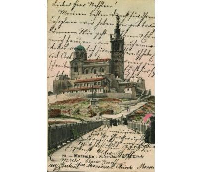 MARSİLYA  ** 1904 FRANSA PG KARTPOSTAL (130914)