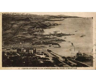 NICE ** 1932 FRANSA P.G.İSTANBUL'A KP(180914) 1